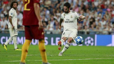 Новият Реал полетя и в Шампионска лига (резултати и видео)