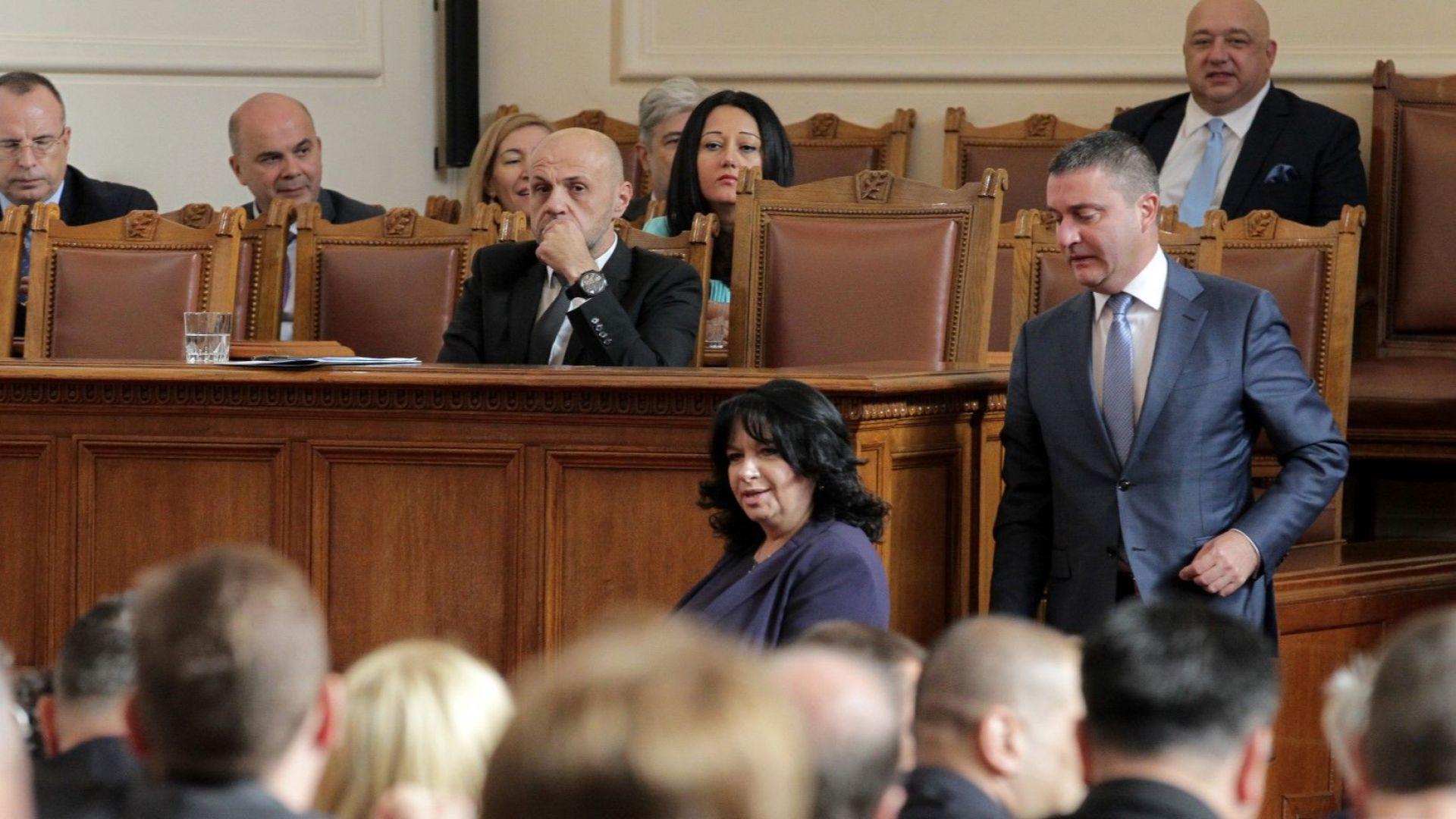 ГЕРБ защити Московски, Нанков и Радев: Наказваме ги с оставките, опозицията нарече хвалбите нелепи