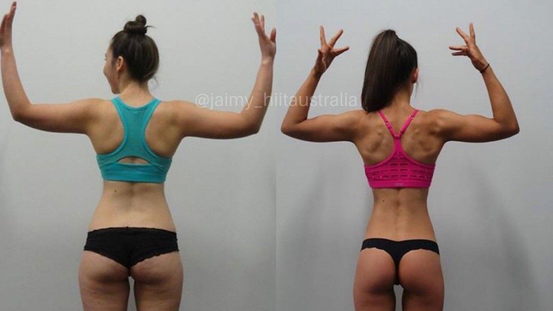 Барманка преобрази тялото си за 2 месеца
