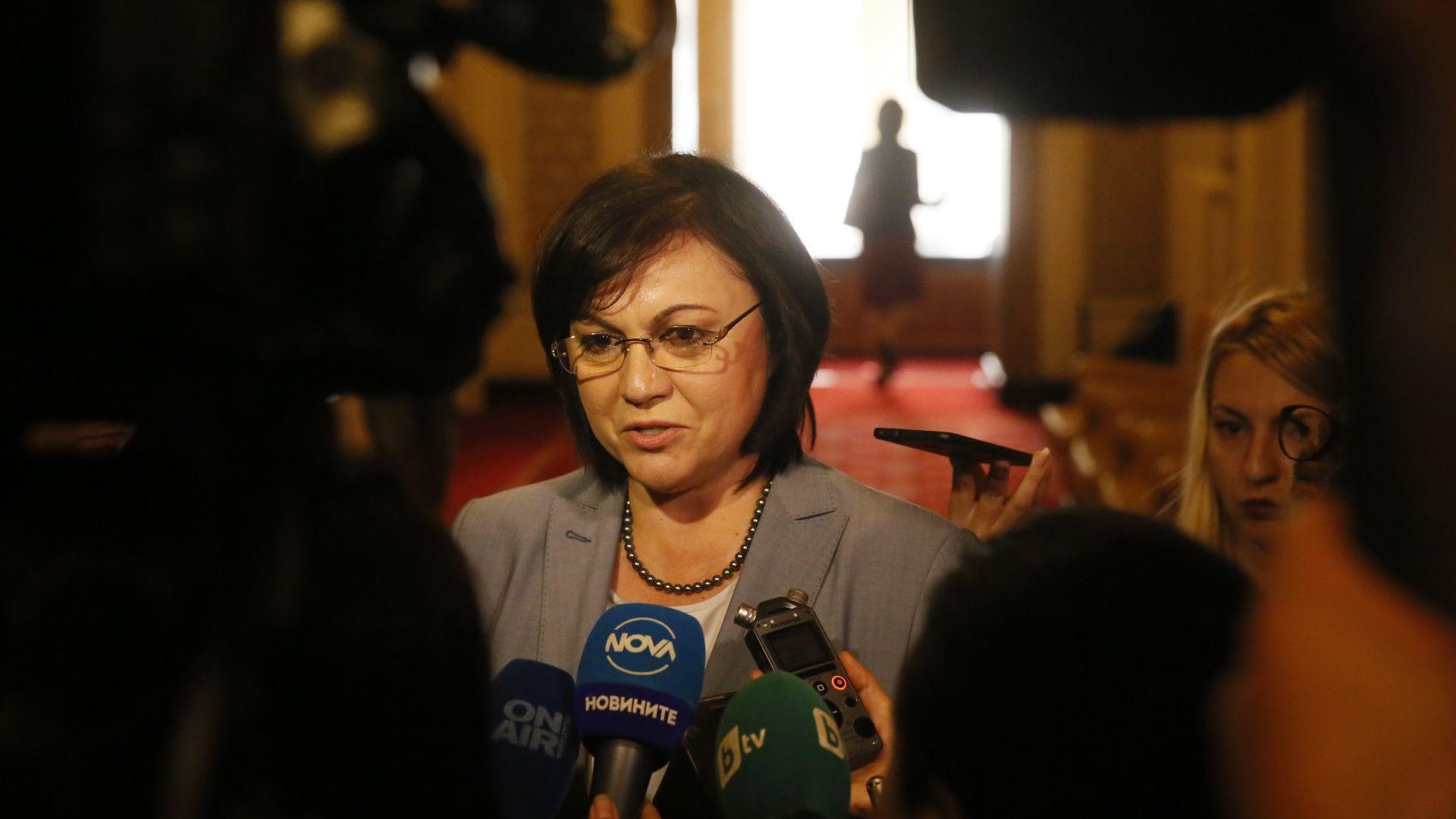 Нинова: Борисов едно говори пред българите, друго пред началниците