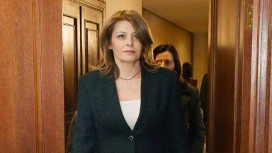 Десислава Радева коментира със сарказъм телефонните записи на президента