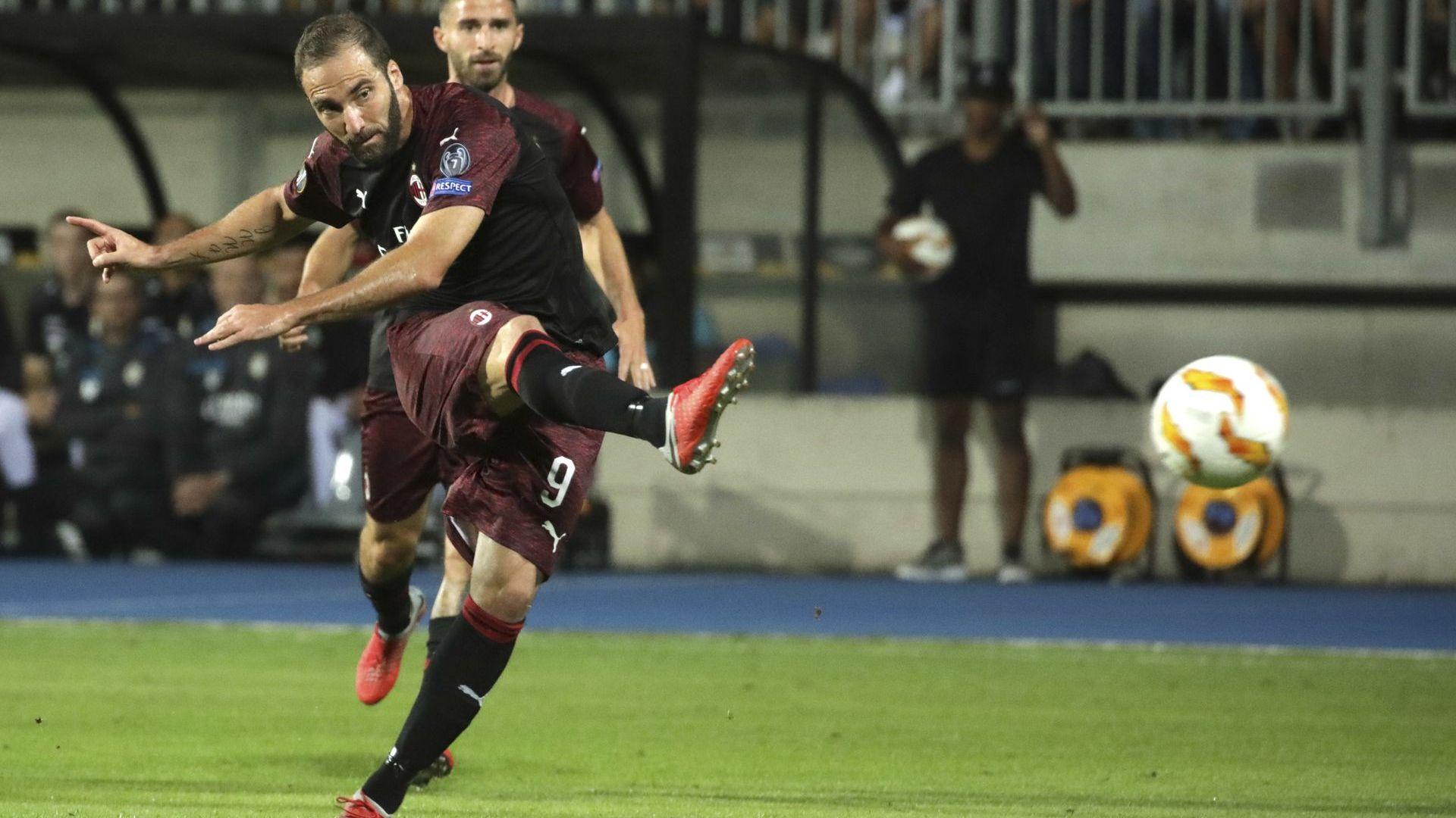 Българин игра 6 минути за загуба от Милан (резултати в Лига Европа)