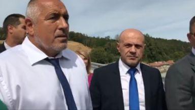 Борисов в Габрово: Ще преведем оттук тежкия трафик между Южна и Северна България
