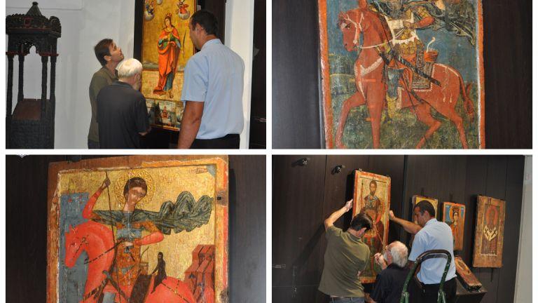 Скъпоценните икони на Несебър се завърнаха в музея