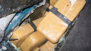 Митничари задържаха 5 кг хероин, укрит в тайник на кола