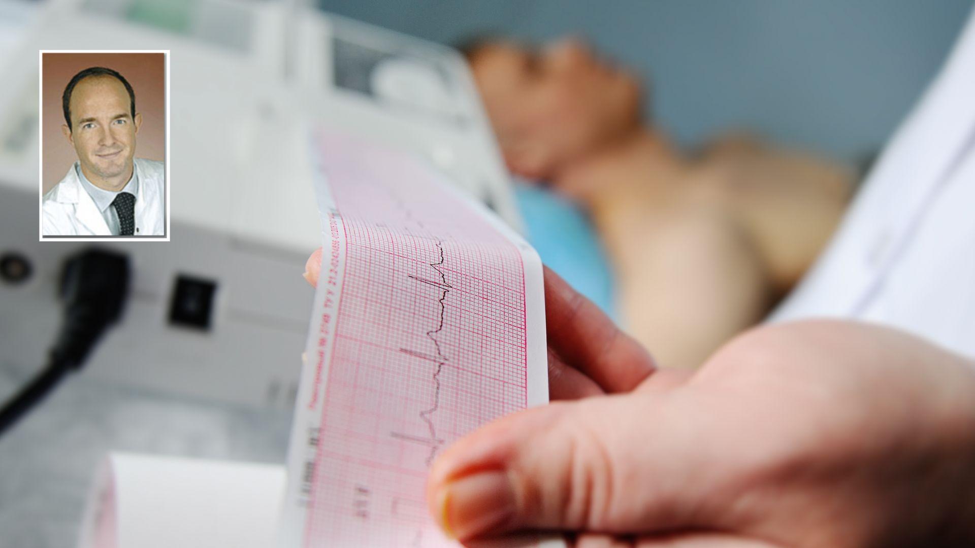 Проф. д-р Мартин Шилингер е специалист по вътрешна медицина, кардиология