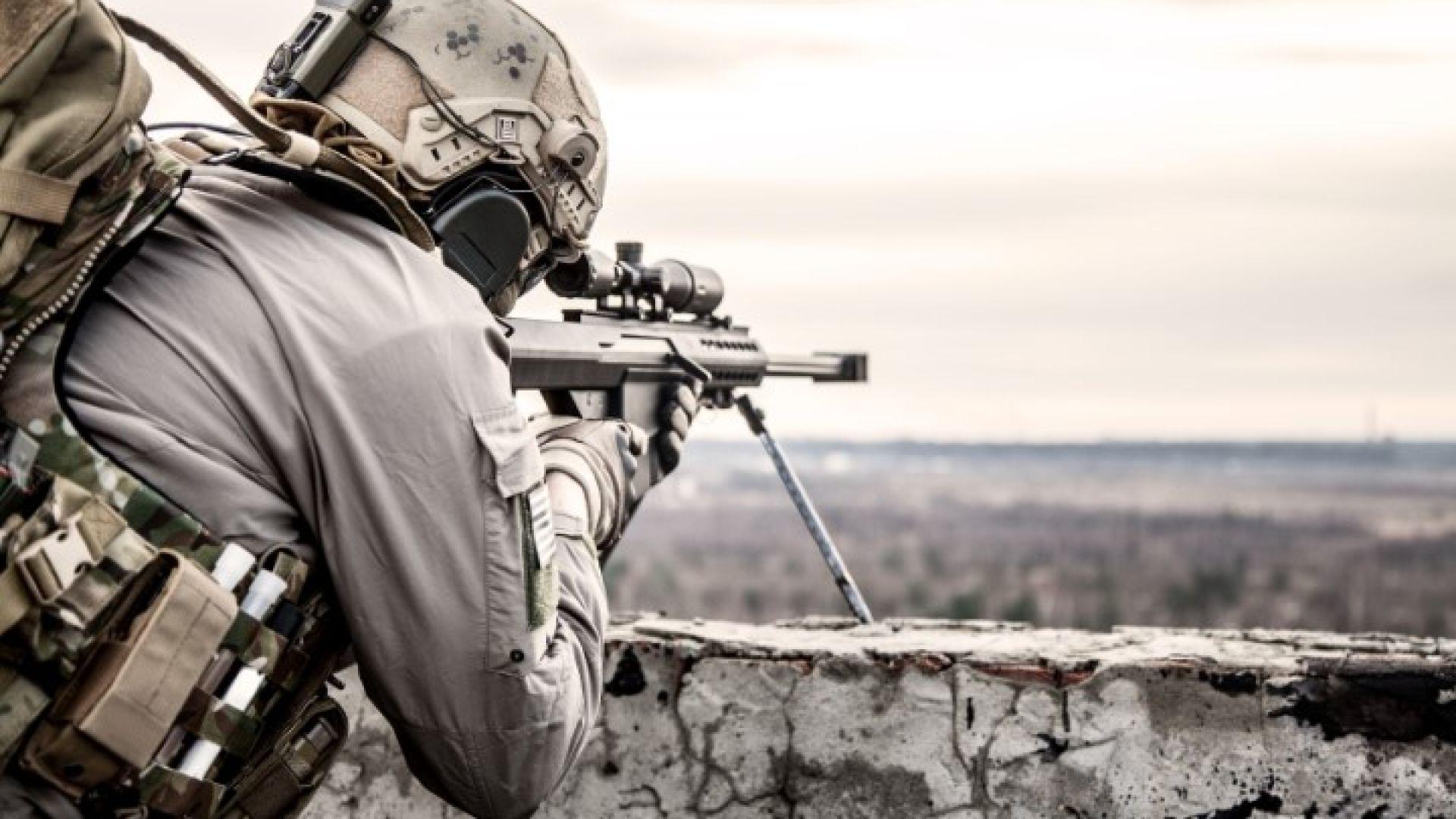 Снайперист от българската армия се отличи с уникален изстрел, поставяйки