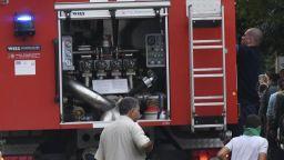 Рейс на градския транспорт се запали в столицата