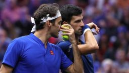 Тандемът на Федерер и Джокович не даде успех