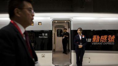 Хонконг пусна високоскоростен влак до континентален Китай