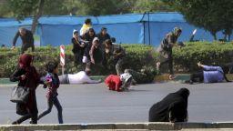 """""""Ислямска държава"""" пое отговорност за нападението в Иран"""