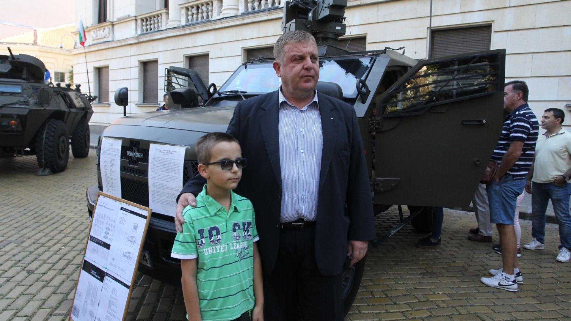 Това съобщи министърът на отбраната Красимир Каракачанов.Кабинетът