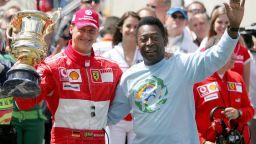 Али, Джордан, Шумахер... Най-славните завръщания в спорта (снимки)