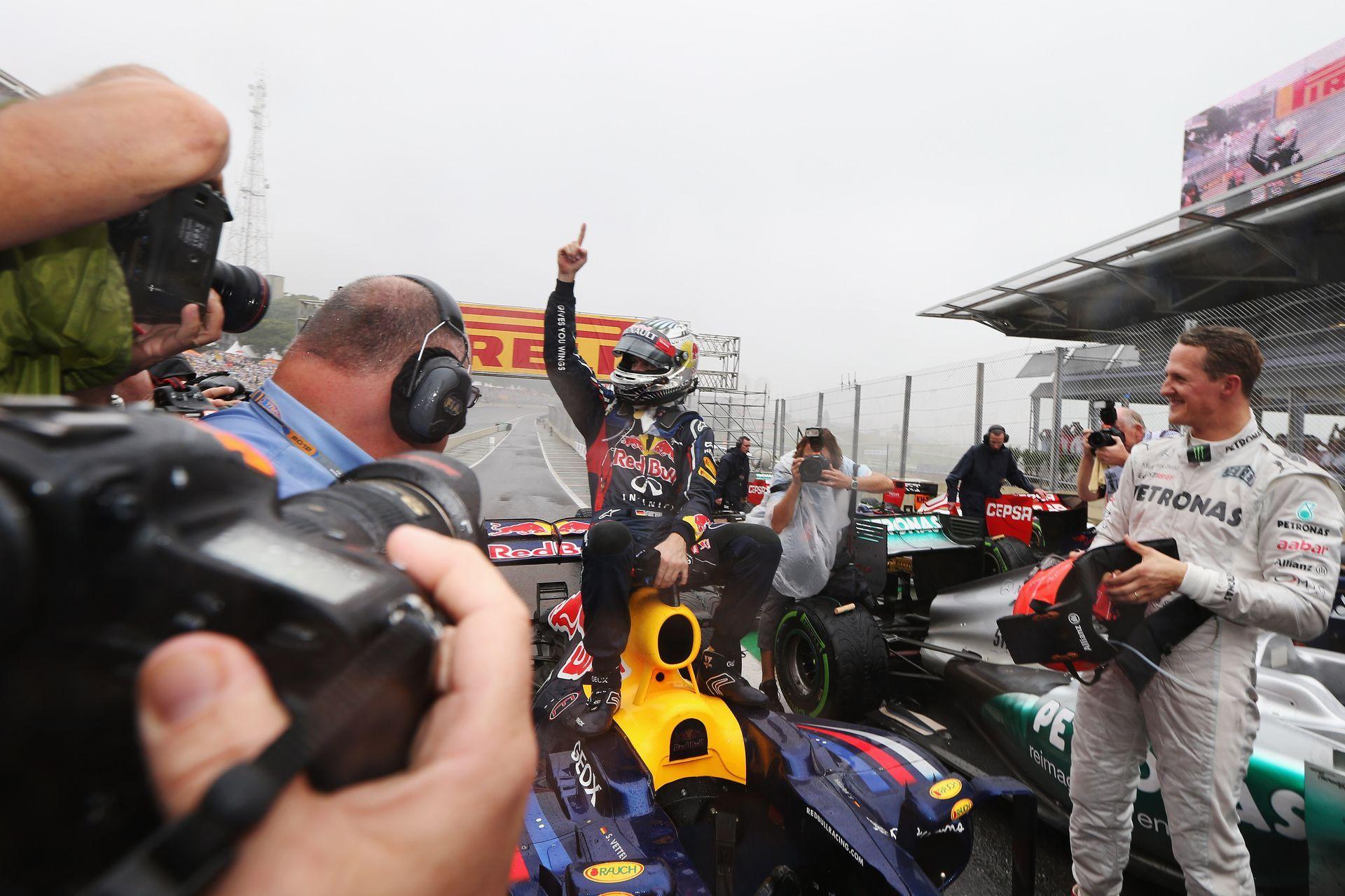 Последното състезание на Шуми от сезона 2012 г.