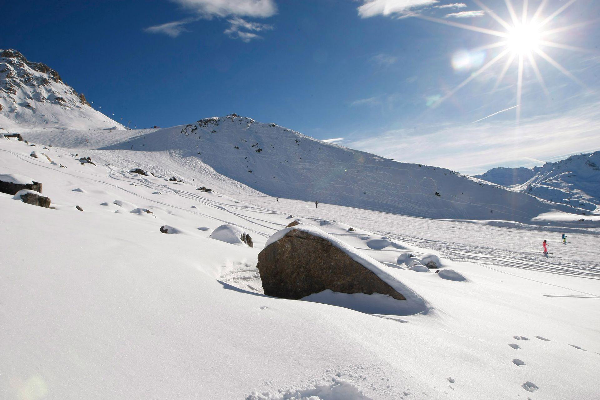 Мястото на инцидента във френските Алпи.