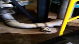 Откриха таен кран за точене на алкохол в склад край Карнобат