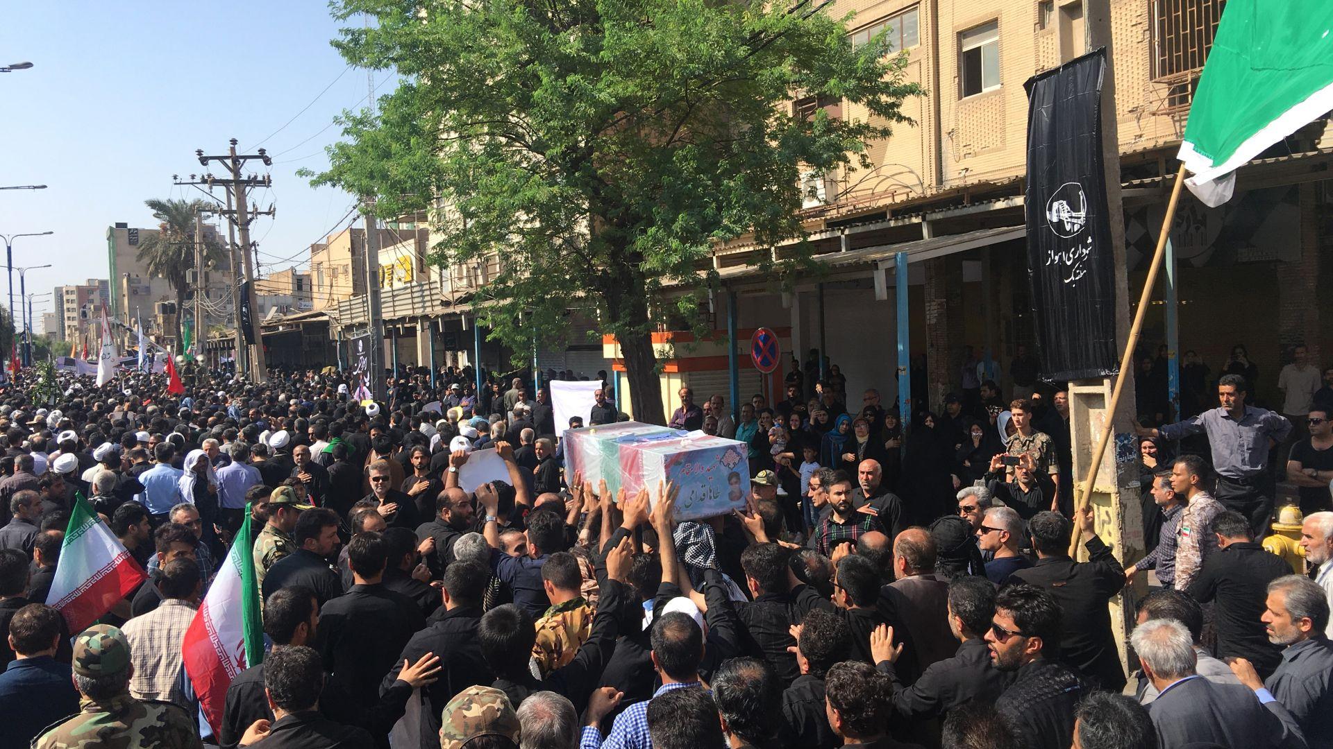 Заместник-командващият иранския елитен Корпус на гвардейците на Ислямската революция предупреди
