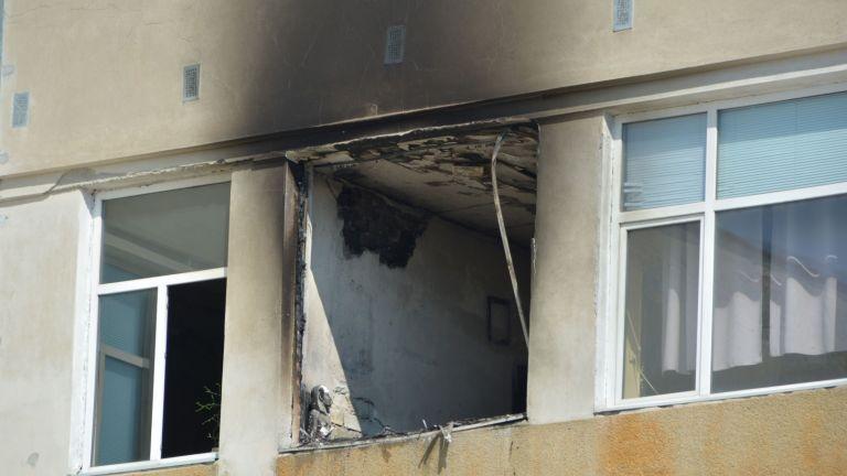 Горя училище в Русе, пострадали няма