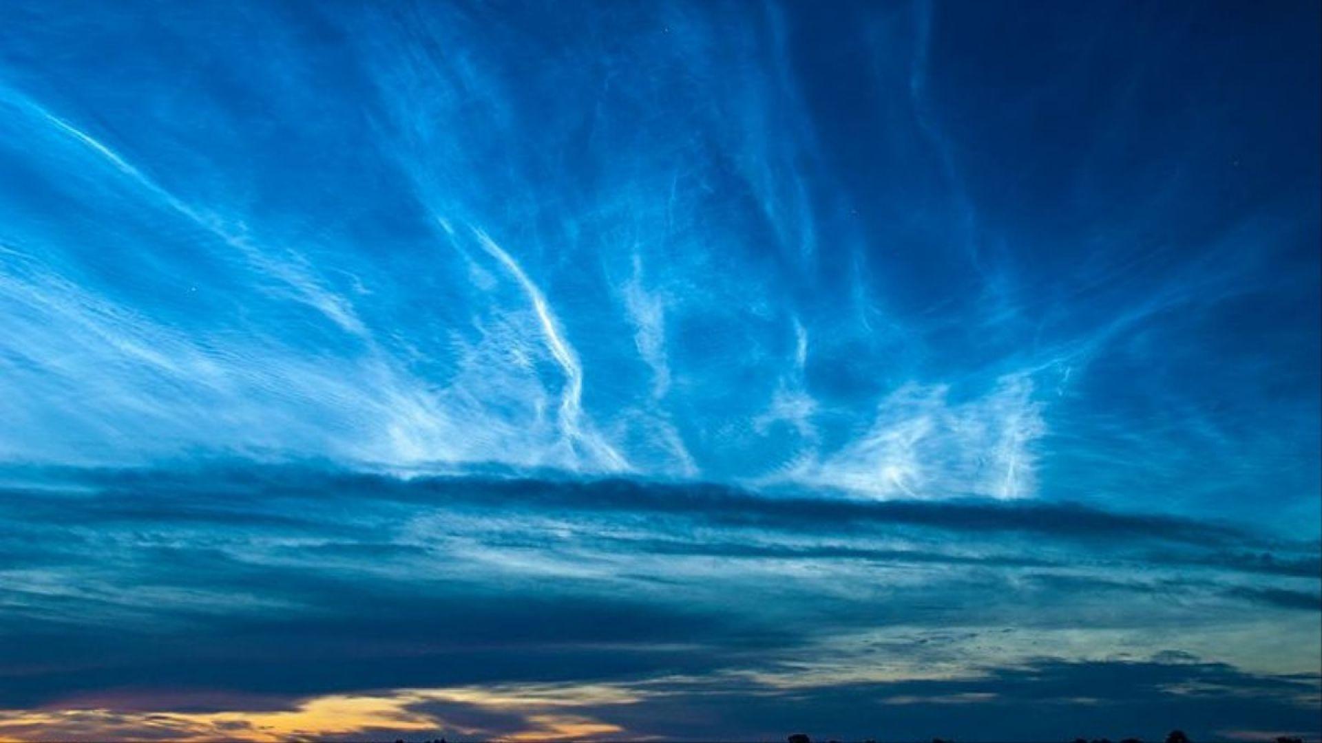 НАСА засне изключително редки облаци в земната атмосфера