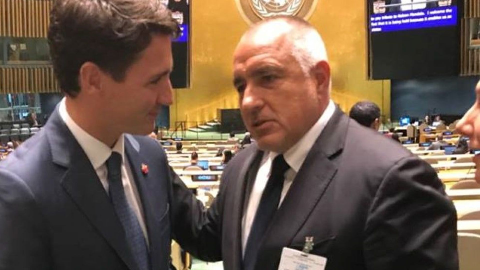 Борисов в САЩ: Против съм легализацията на всякаква дрога (видео)