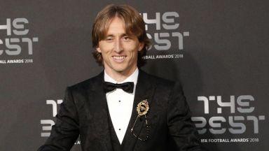 Лука Модрич е футболист №1 за 2018 година, Роналдо без награда