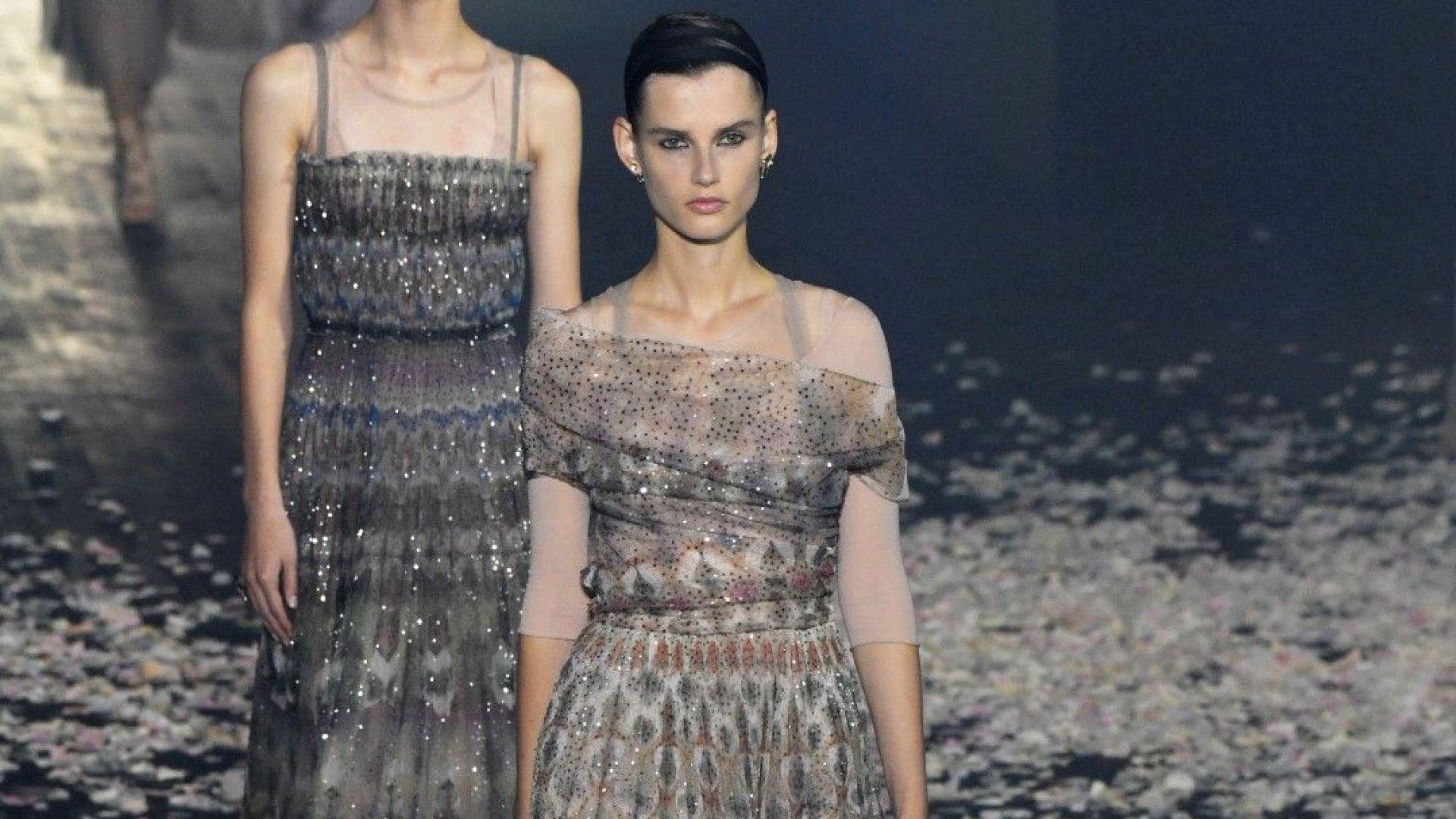 Dior откри Седмицата на модата в Париж с танц на платовете