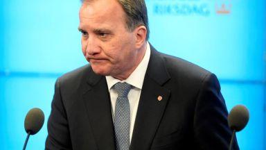 Шведският премиер си отива, изхвърлен от парламента