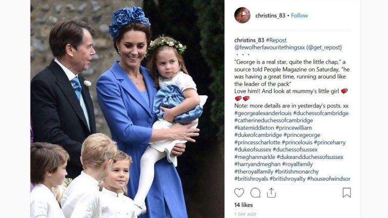 Принцеса Шарлот и принц Джордж отново се изявиха като шафери
