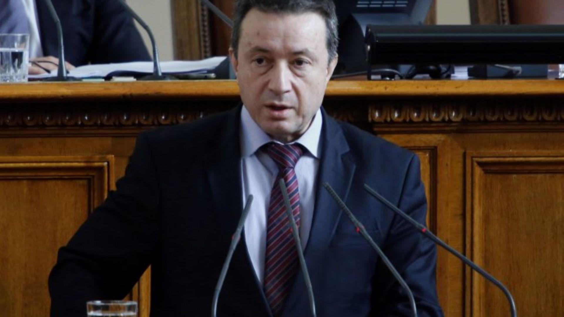 Янаки Стоилов от БСП оттегли кандидатурата си за конституционен съдия,