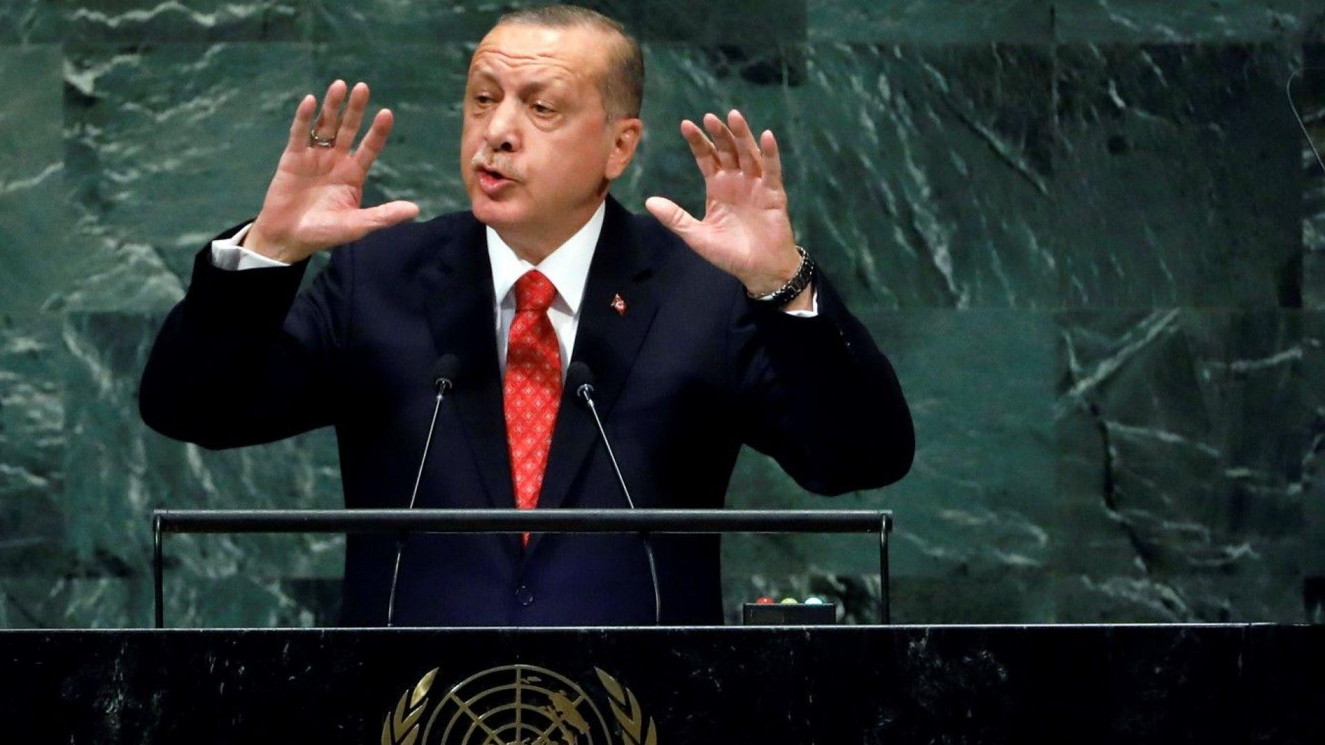 Ердоган: Турция няма да напусне Сирия, докато не се проведат избори