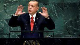 Ердоган напусна залата в Ню Йорк, докато президентът на САЩ говори