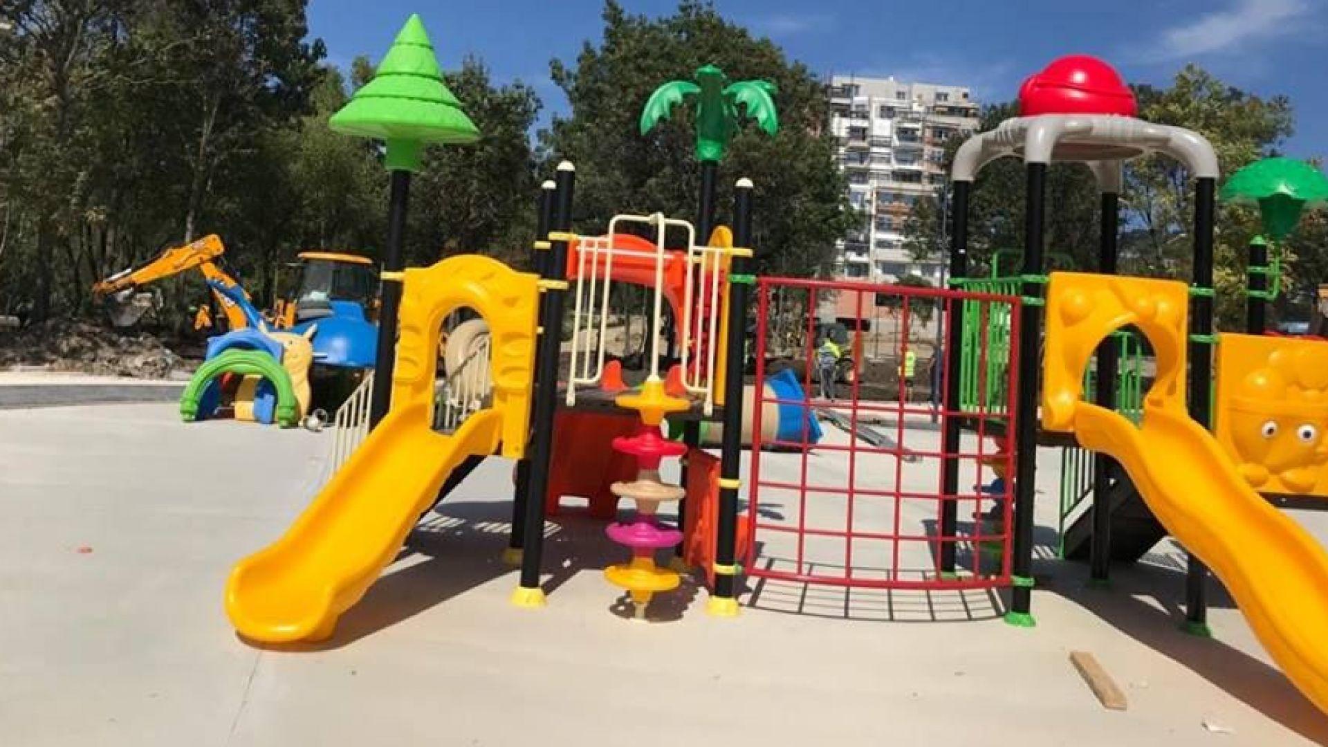 Изграждането на парка в кв.