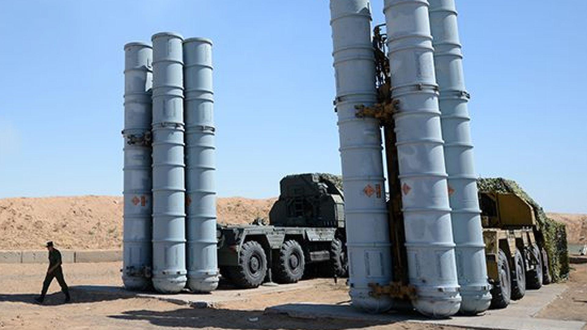 Русия достави зенитно-ракетни комплекси С-300 на Сирия
