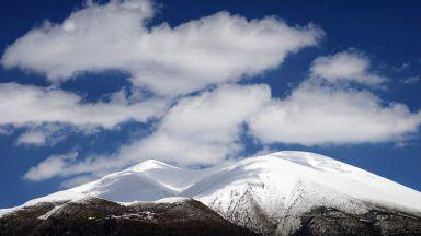 Първият сняг падна в Гърция (галерия)