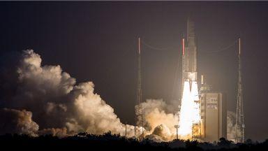 Стотното изстрелване на европейската ракета Ariane 5