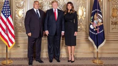 Борисов и Тръмп позираха заедно в Белия дом