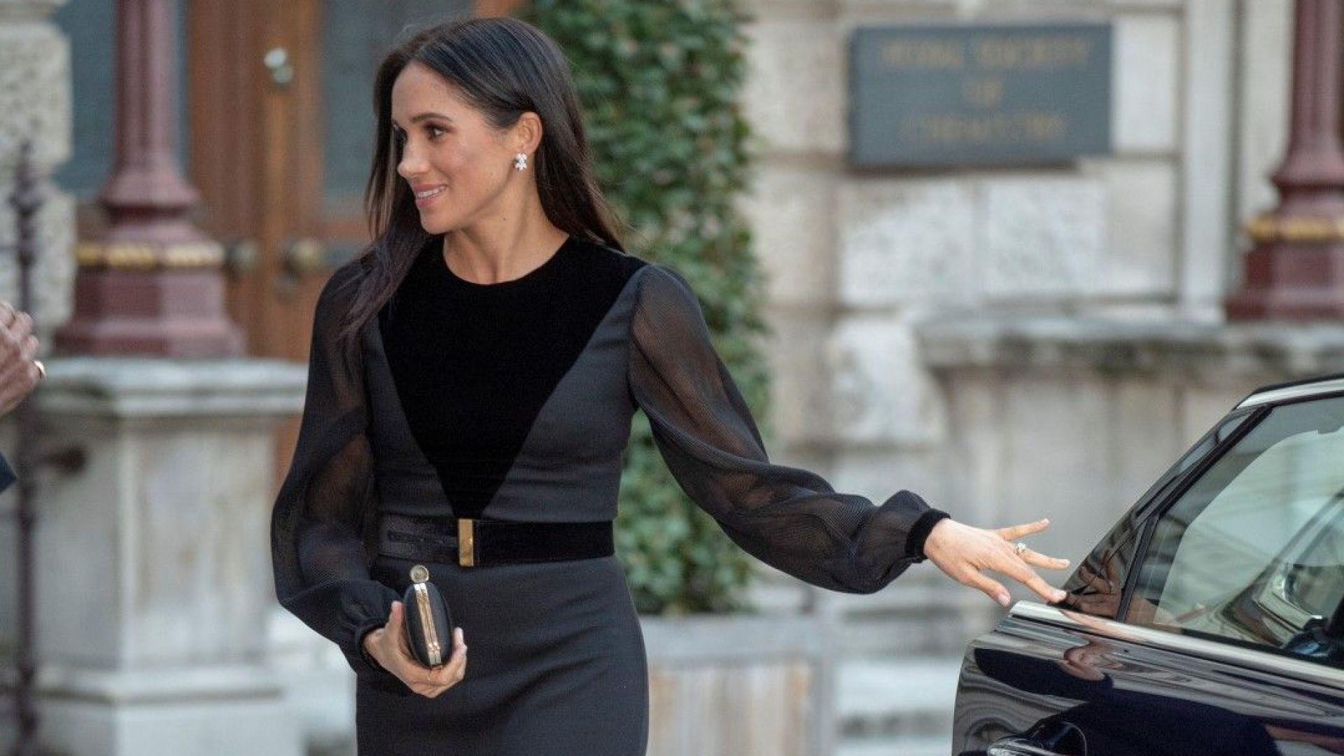Меган елегантна на първата си самостоятелна изява като херцогиня