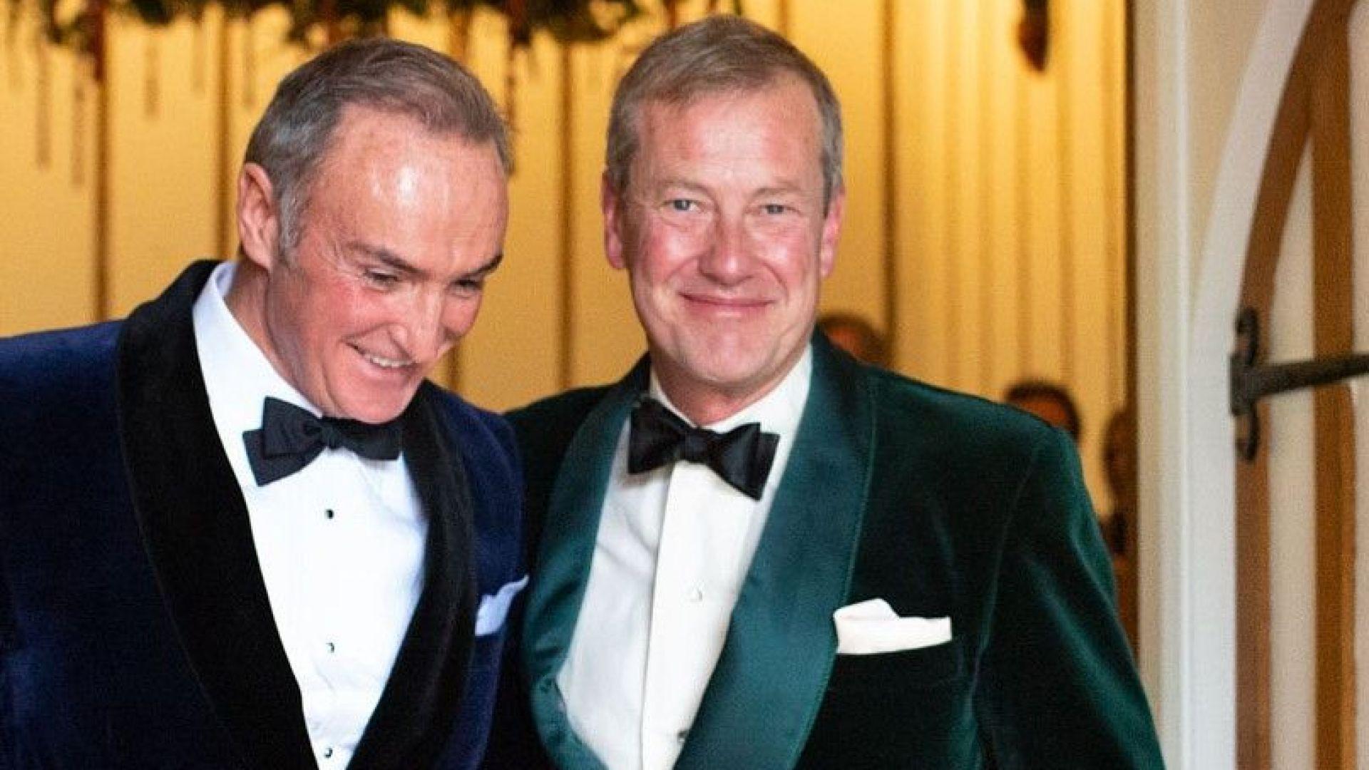 Първи гей брак в британското кралско семейство (снимки)