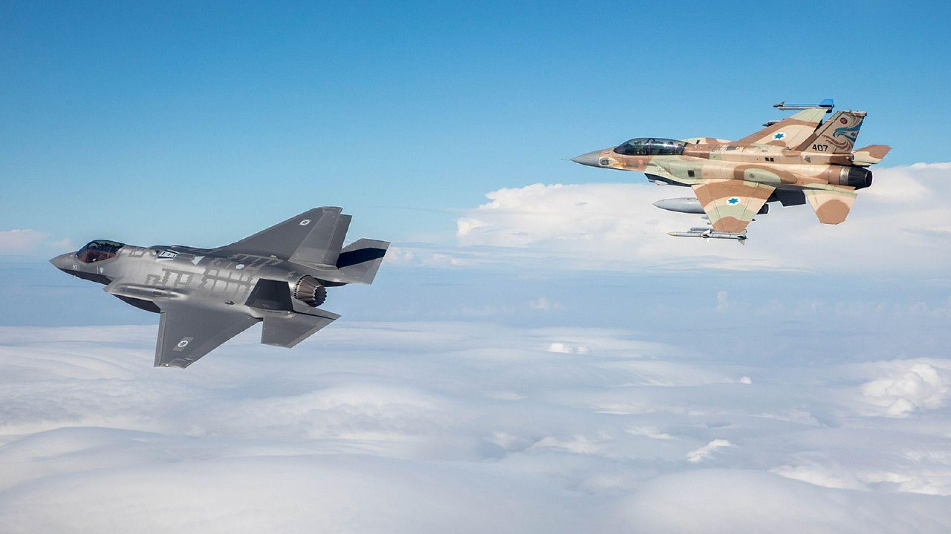 С какво разполагат Военновъздушните сили на Израел (снимки)