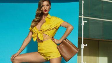 """Жизел Бюндхен е новото лице на линия продукти на """"Диор"""" (снимки)"""