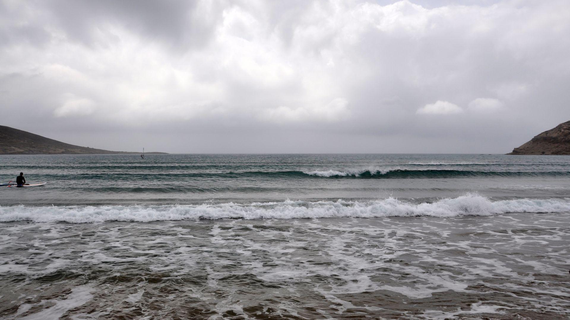Външно към българите: Циклон удря южната част на Йонийско море