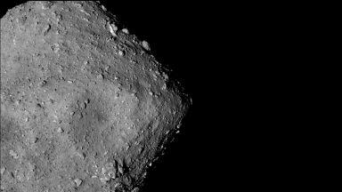 Това са първите снимки в историята от повърхността на астероид