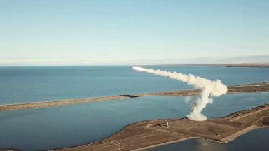 Русия тества нова военна ракетна система (видео)