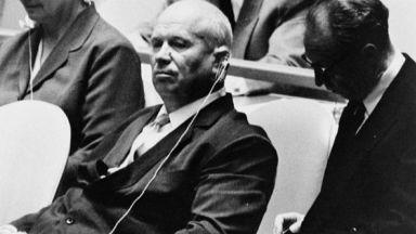 Речта на Хрушчов пред ООН, с обувка или без (снимки, видео)
