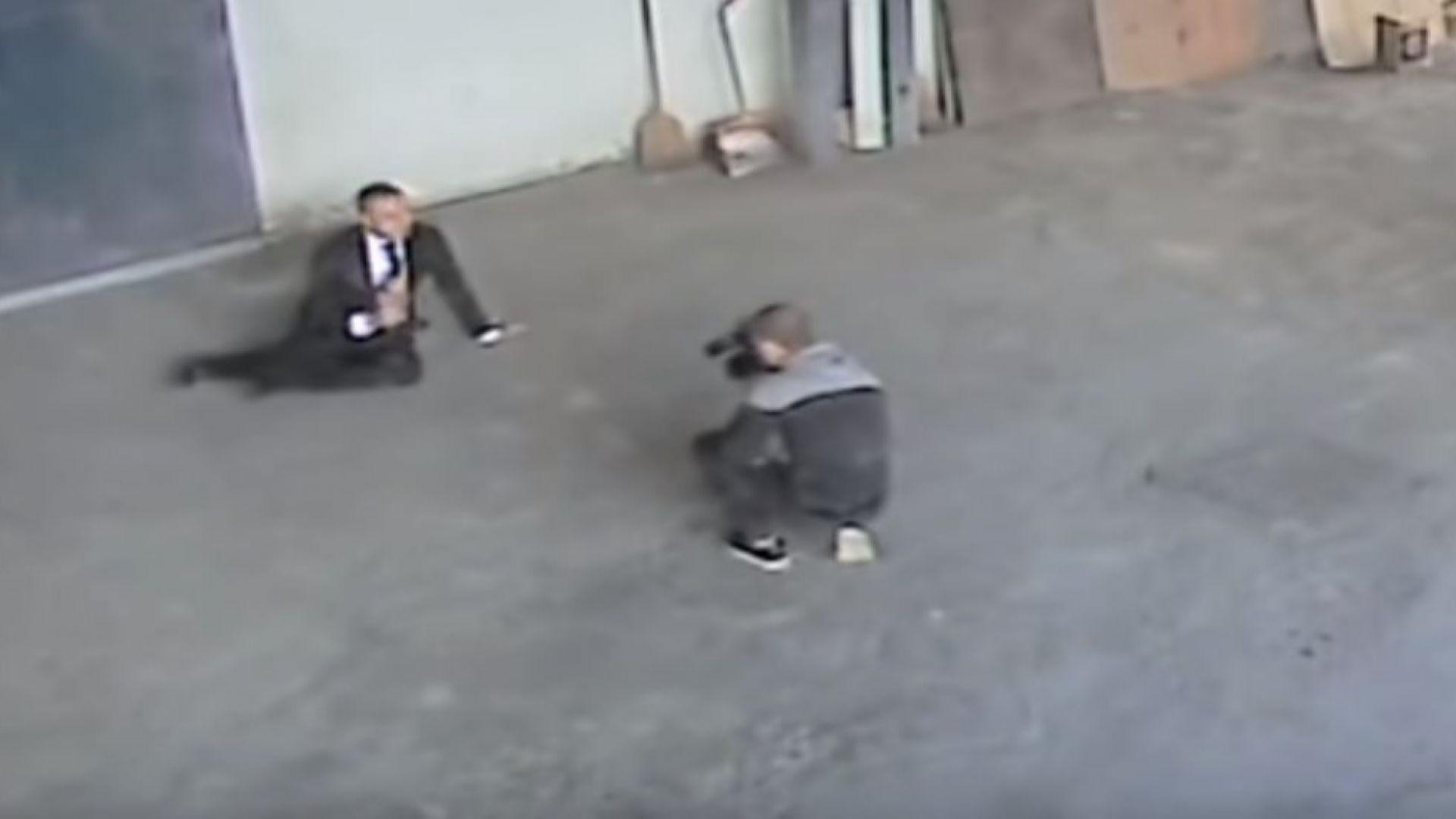 Видеозаписи разкриват бит ли е репортерът Димитър Върбанов