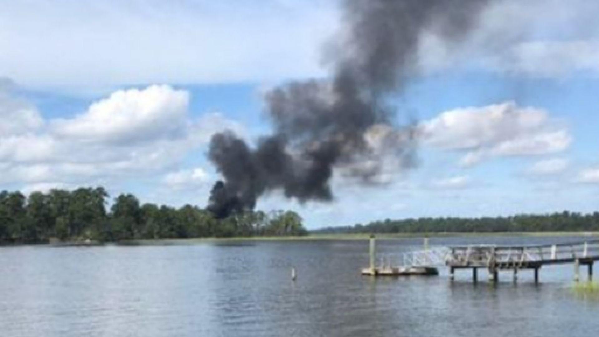 CNN: Изтребител F-35B се разби в САЩ