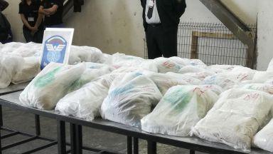 Хероиновата пратка, за която цял свят разбра, може да стигне до 800 кг (видео)