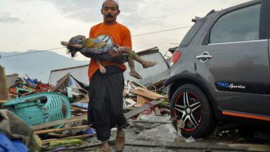 Стотици са вече жертвите на цунамито в Индонезия, ранени от тайфун в Япония