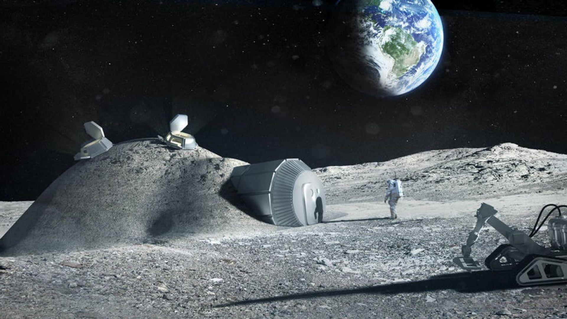 Русия може да построи първата база на лунната повърхност през 2030 г.