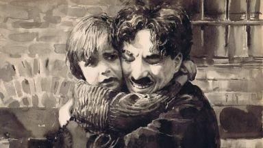 Чаплин в чудните акварели на Калина Тонева